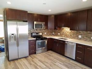 after kitchen renovation remodeling