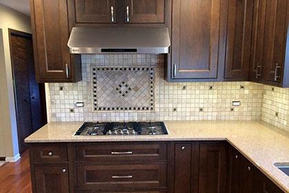 mosaic backsples kitchen tiles small