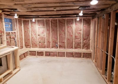 bench-framing-insulation-fireplace