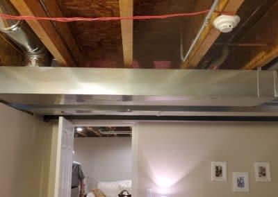 framing-basement-ceiling-painting -walls