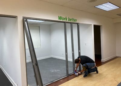 framing-new-office-space