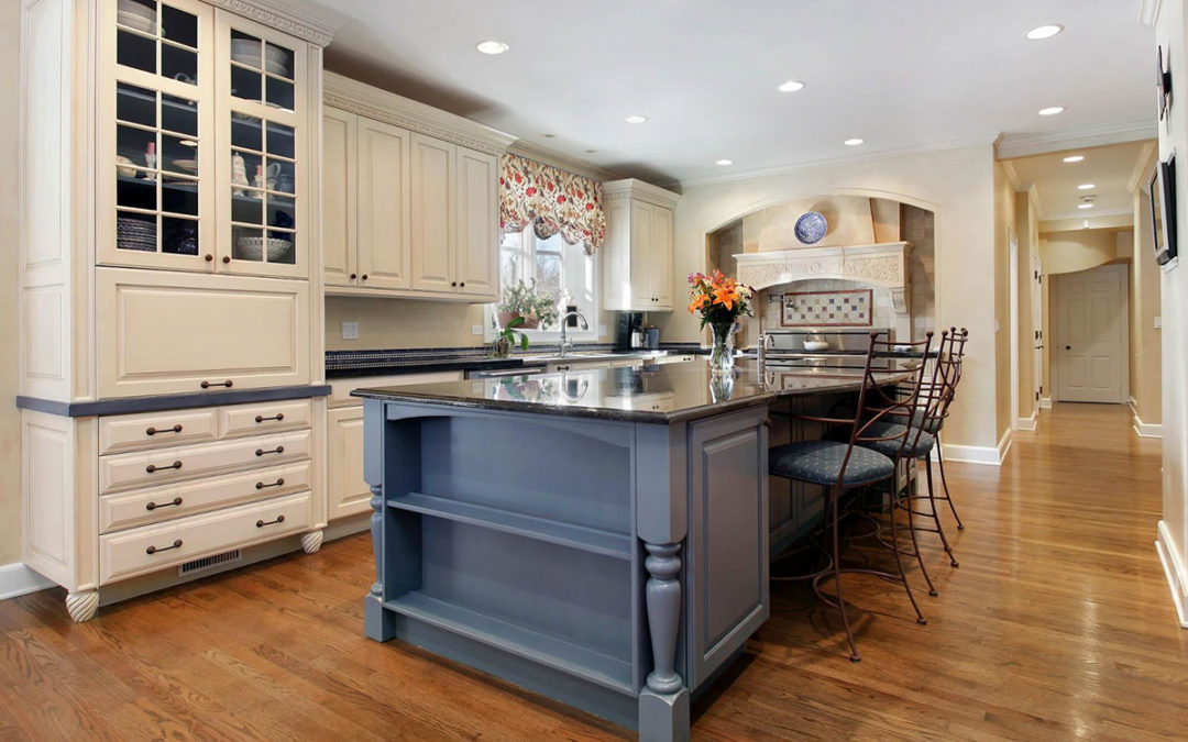 new white Kitchen Remodeling in chicago