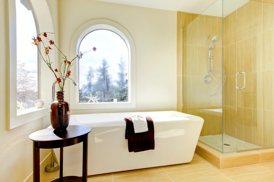 new and modern Guest Bathrooms